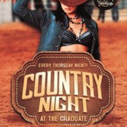country night @ the graduate